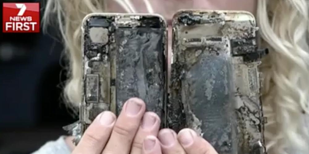iPhone 7 a luat foc iphone-7-fire