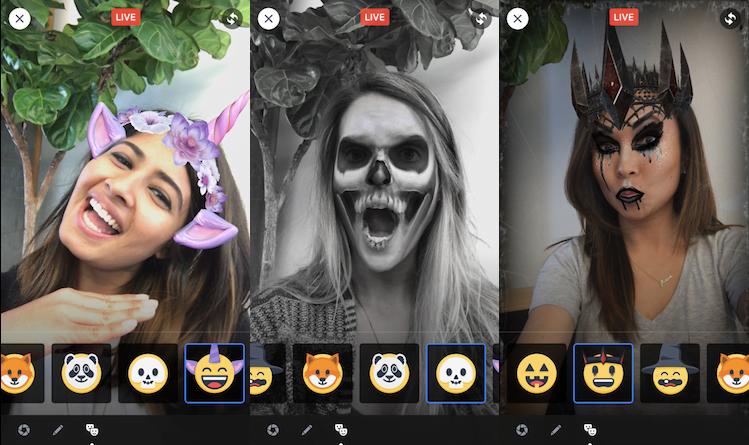 facebook masks masks