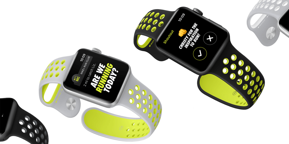 apple watch nike+ nike