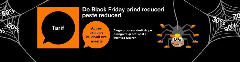 Orange Black Friday 2016. Oferte pentru telefoane, abonamente şi smartwatch-uri