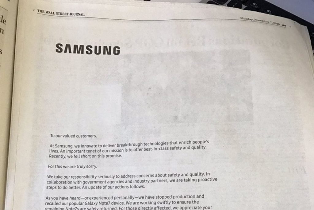 galaxy note 7 Samsung_galaxy_note_7_apology_ad
