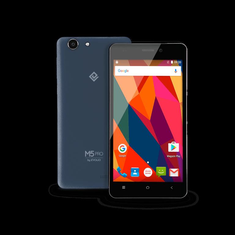 Evolio M5Pro și M6. Telefoane cu Android 6.0, la 399 lei