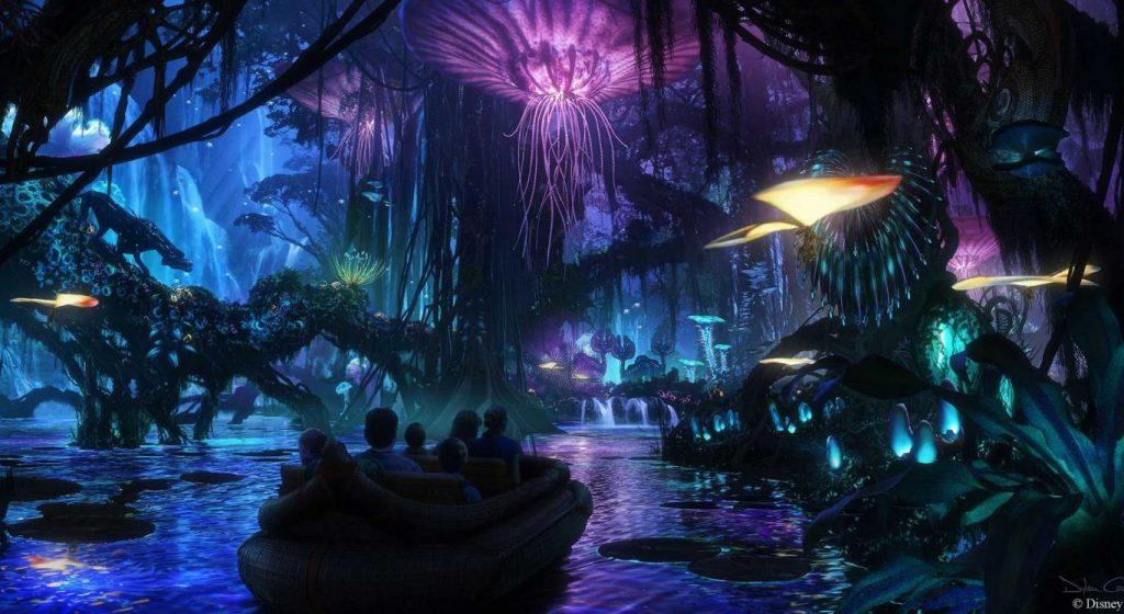 """""""Pandora The World of Avatar"""". Primele imagini video cu parcul de distracţii Disney"""