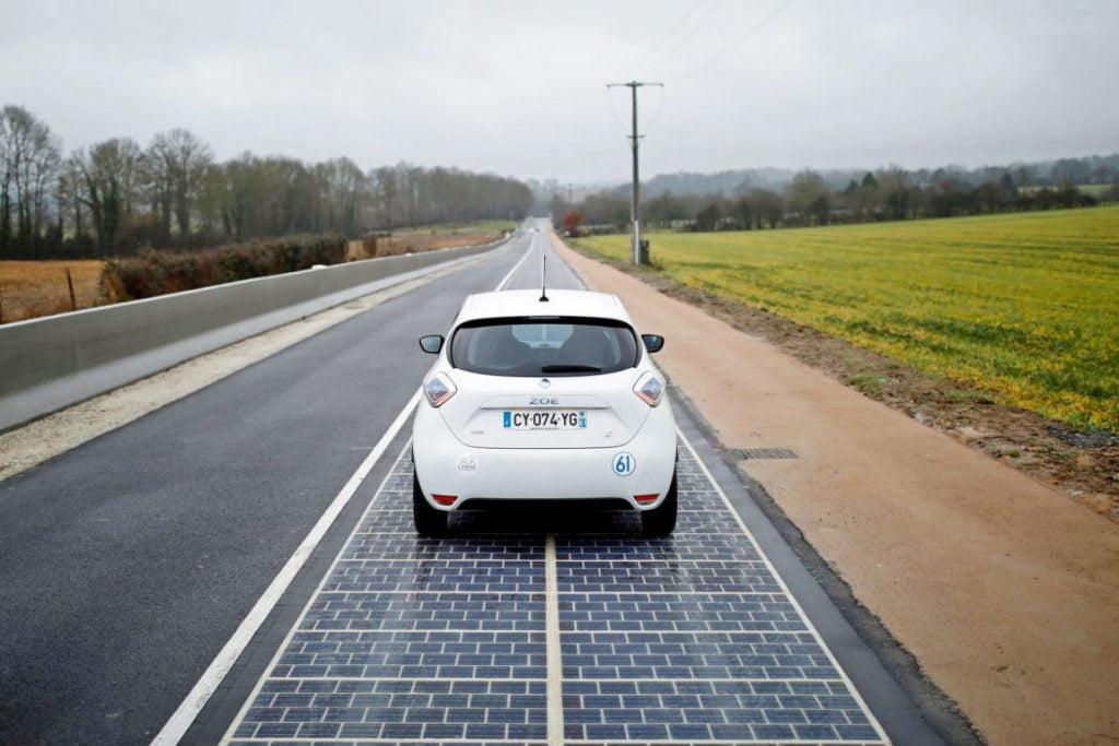 Primul drum solar din lume, inaugurat în Franţa