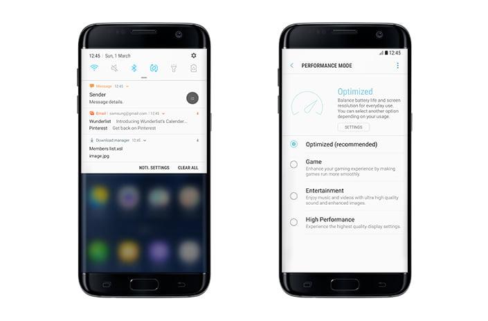 Telefoanele Samsung care vor trece la Android 7.0