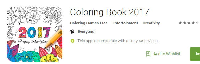 aplicaţii Android Coloring-Book-2017