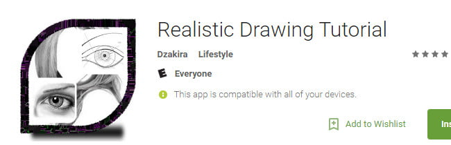 aplicaţii Android Realistic-Drawing-Tutorial