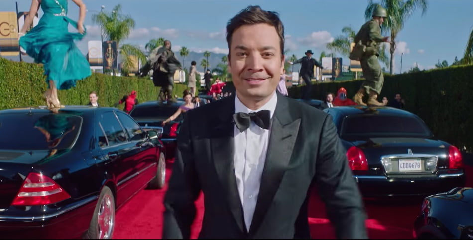"Clipul video ""Jimmy Fallon's Golden Globes Cold Open"", viral pe internet"