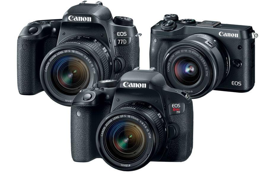 Canon lansează trei noi camere. Niciuna nu filmează în 4K