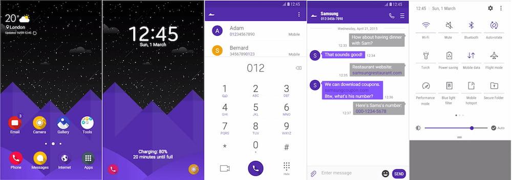 teme Samsung-Galaxy-Theme-Soni-Bora-UI-White