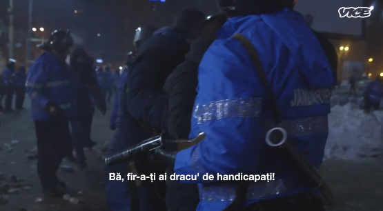 politist sub acoperire jandarm-batut