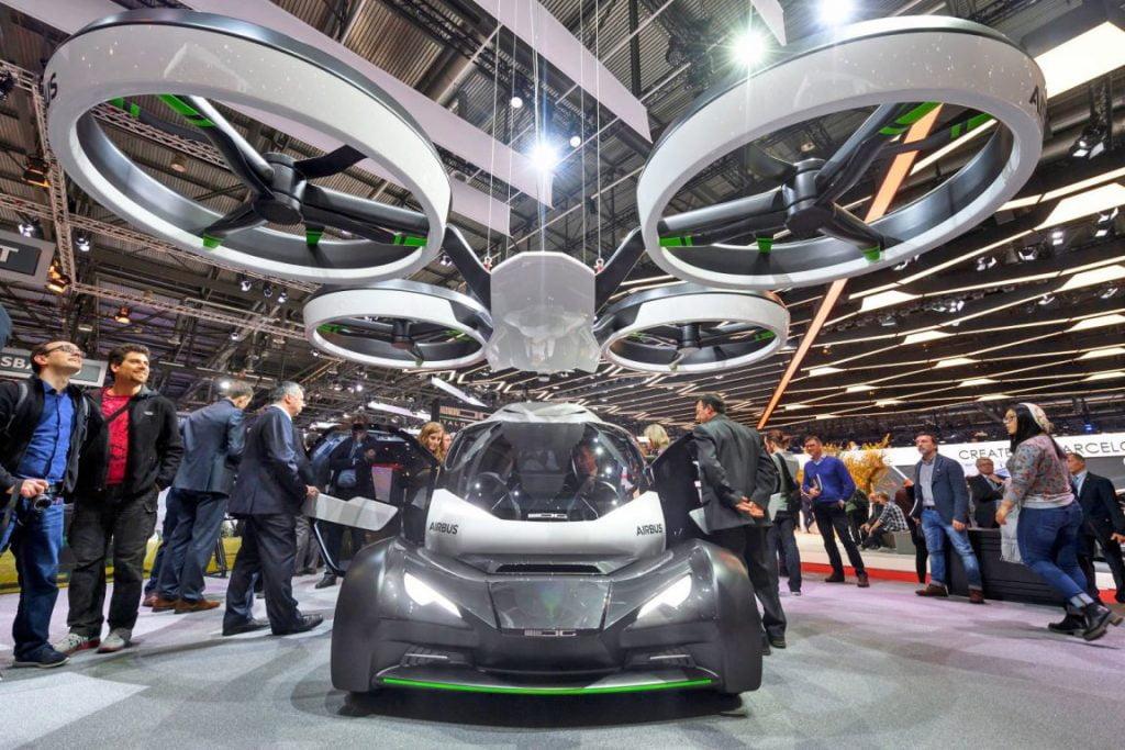 Airbus Pop.Up. Cum arată prototipul maşinii zburătoare