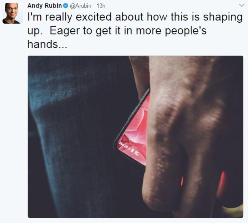 Andy Rubin, inventatorul Android, lucrează la primul telefon  Essential