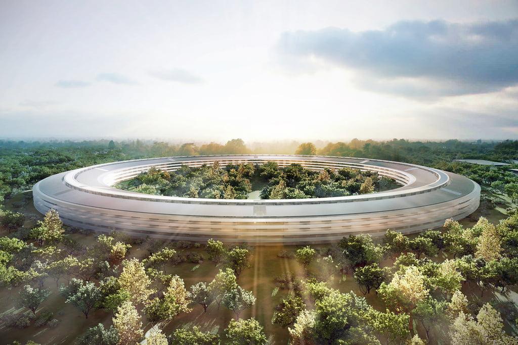 Apple Park. Noi imagini cu OZN-ul construit de Apple