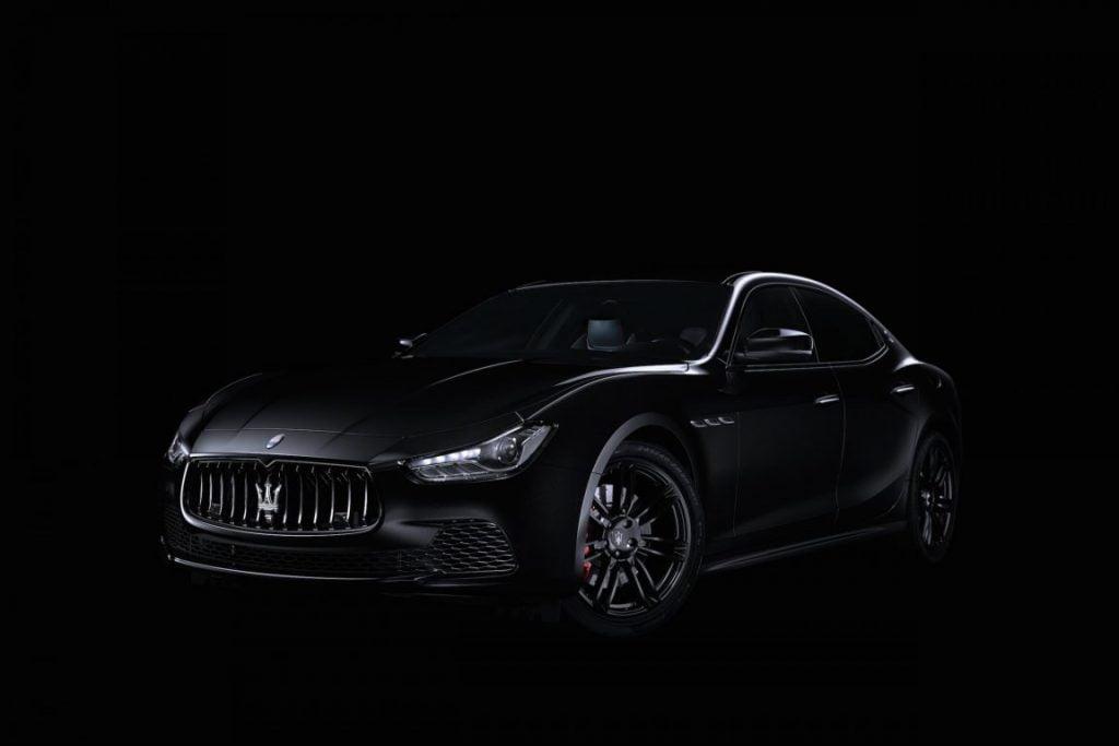 Maserati Nerissimo Edition. Cum arată noua limuzină ,,all black''