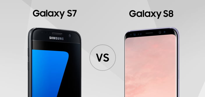 Samsung Galaxy S8+ vs. Galaxy S7 edge. Merită upgrade-ul?
