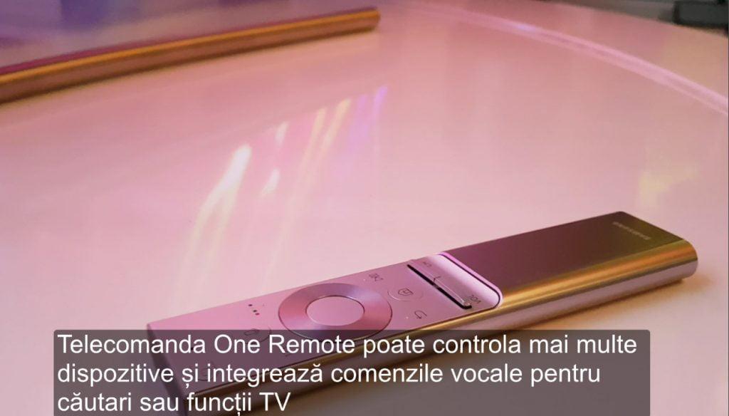 qled Telecomanda-Samsung-One-Remote
