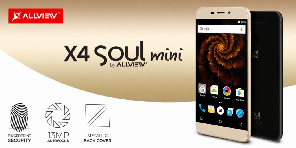 Allview X4 Soul mini. Un telefon optim, la un preţ destul de bun