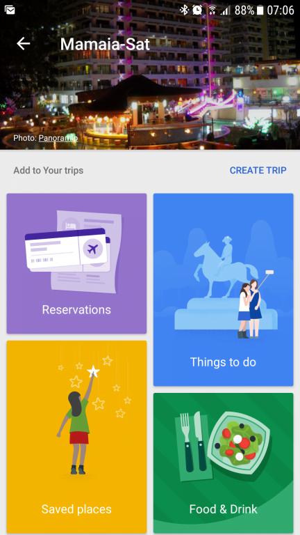 Google Trips. O aplicaţie excelentă pentru vacanţe şi călătorii