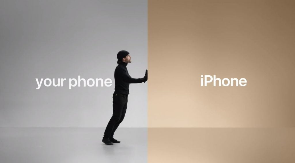 "iPhone ""Life-is-easier-on-iPhone""-campanie"