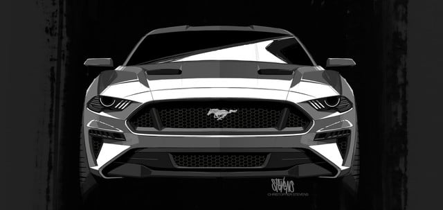 ford mustang ford-mustang-design-2018