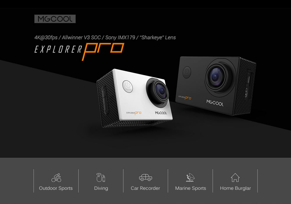 MGCOOL Explorer Pro 4K. O camera video ieftina si performantă