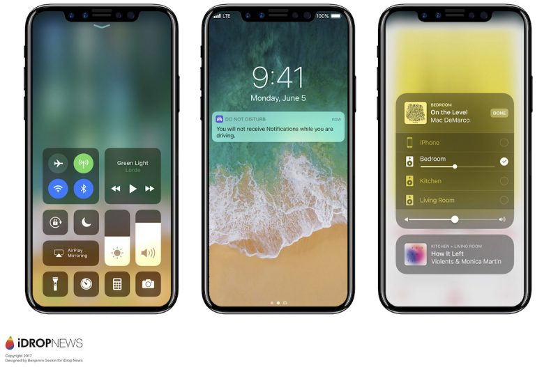 iphone 8 iphone-8-renders-ios-11-gadgetreport