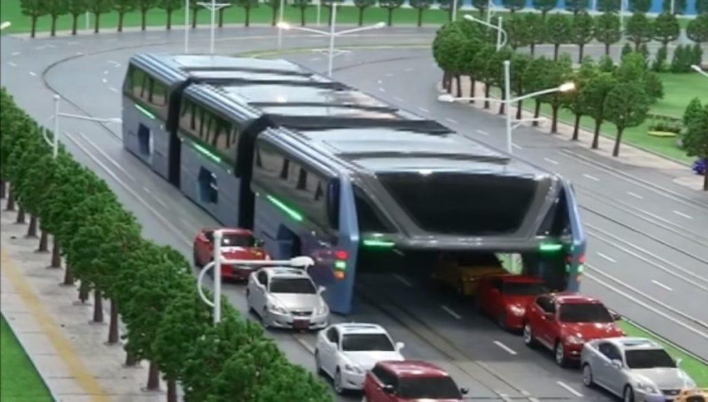 Autobuzul Transit Elevated Bus (TEB), o ţeapă de proporţii?
