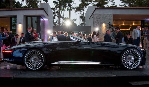 Vision Mercedes-Maybach 6 Cabriolet. Cum arată cel mai spectaculos prototip electric