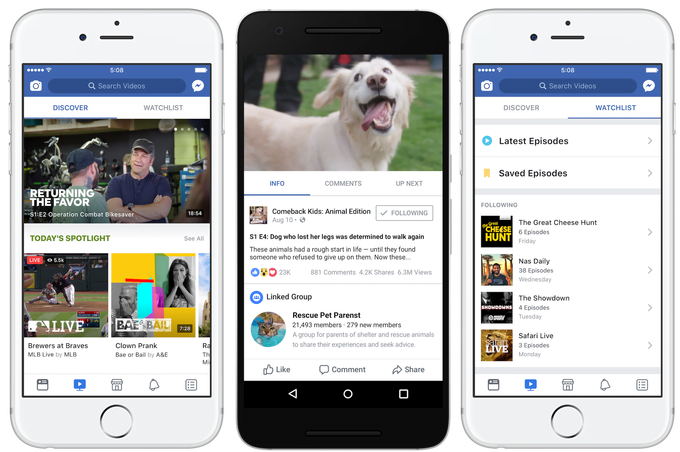 facebook watch facebook-watch-tab-gadgetreport
