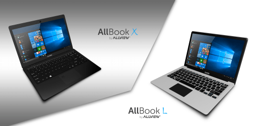 Allbook X și Allbook L. Cum arată și ce pot noile laptopuri lansate de Allview
