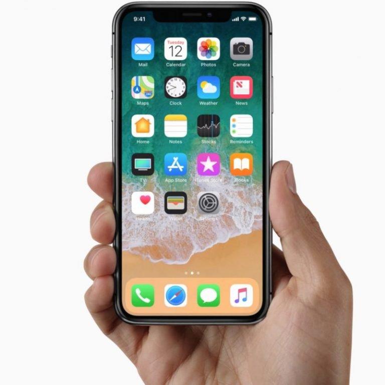 iphone x iPhone-X-frontala