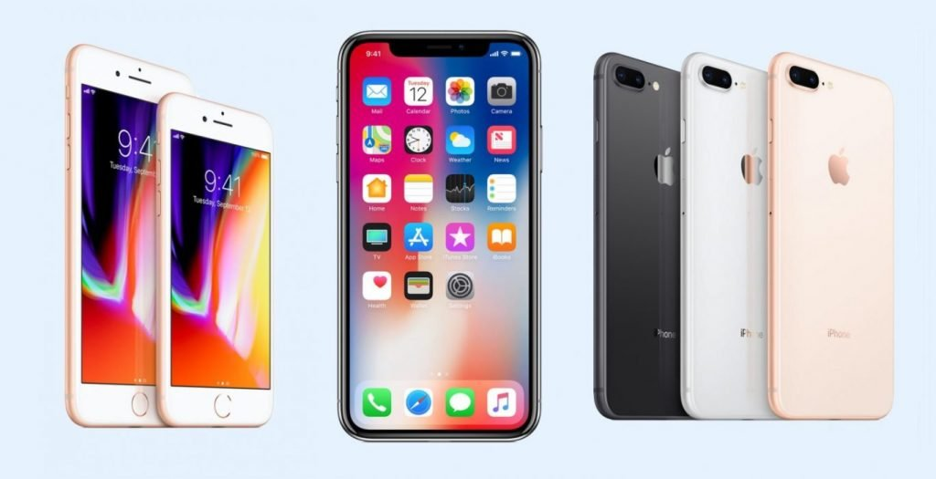 iphone x iphone-x-iphone-8-compared