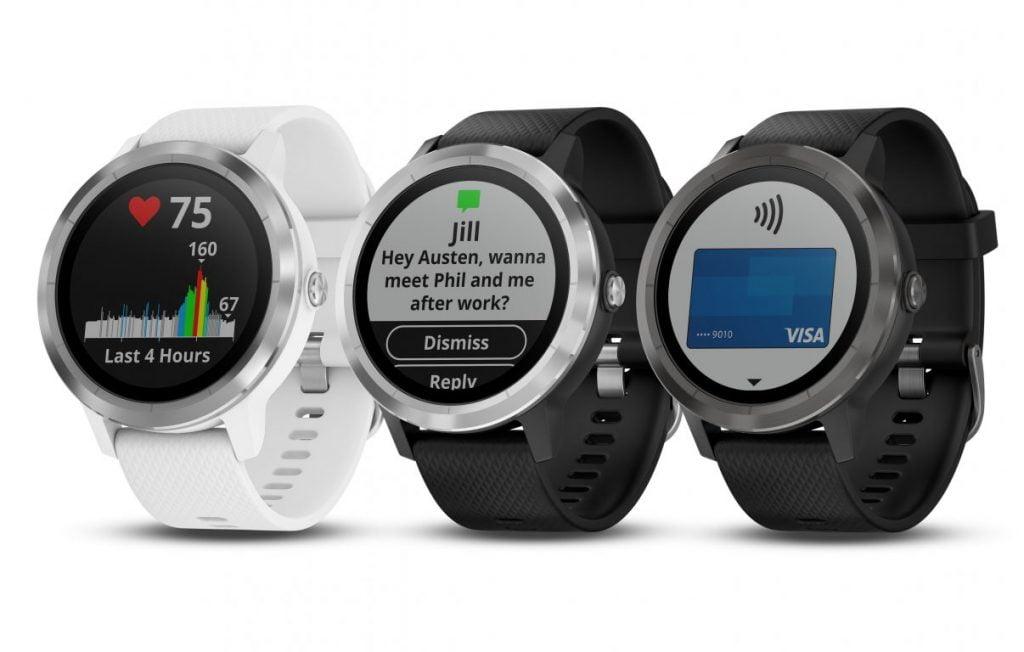 Cum arată şi cât costă noile smartwatch-uri Garmin Vivoactive 3 şi Vivomove HR