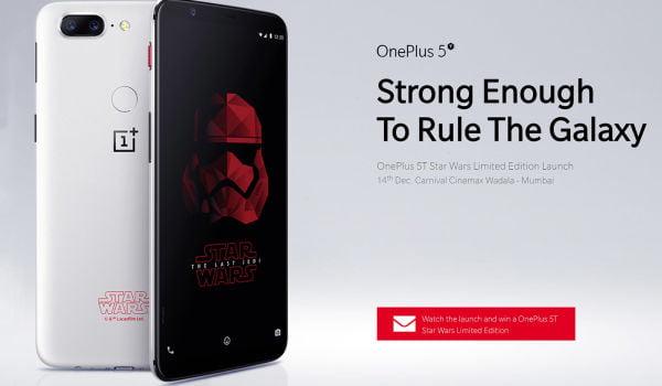 OnePlus Special Edition 5T. Cum arată telefonul Star Wars