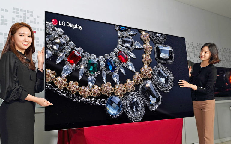 LG scrie istorie. Lansează primul televizor OLED 8K de 88 inchi