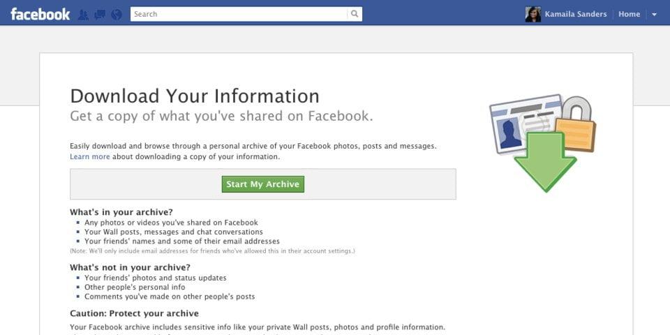 deletefacebook facebook-descarci-date