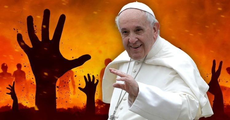 Papa Francisc: Iadul nu există! Ştirea, virală pe internet