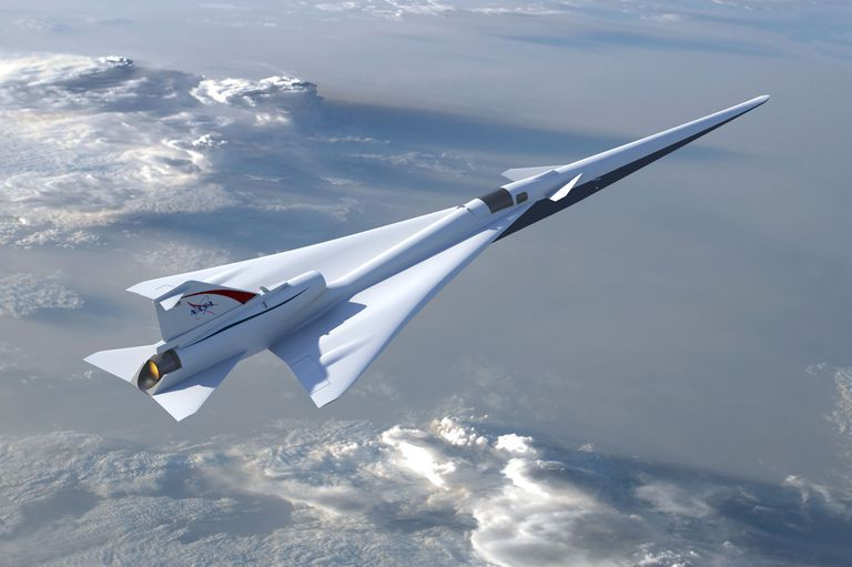 X-Plane. Avionul supersonic finanţat de NASA devine realitate