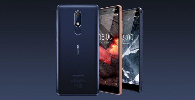 Nokia 2.1, Nokia 3.1 și Nokia 5.1. Trei noi telefoane ieftine şi cu specificaţii interesante