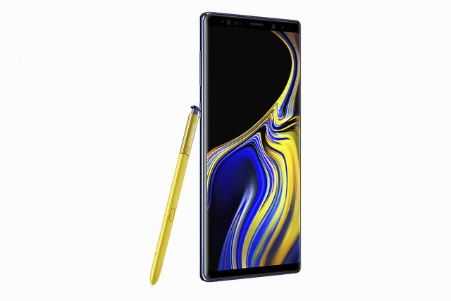 galaxy note9 Galaxy_Note9_Ocean_Blue_Back_Pen_front