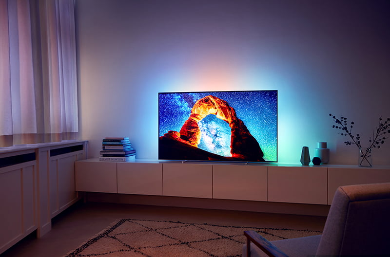 Philips OLED 803. Cel mai nou Android TV, disponibil pe piață