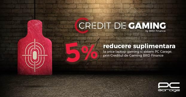 PC Garage lansează Creditul de Gaming