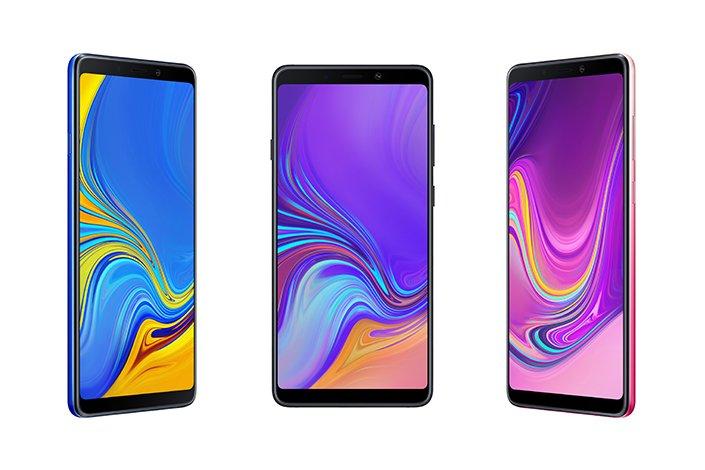 Samsung Galaxy A9. Telefonul cu 4 camere foto, în premieră mondială