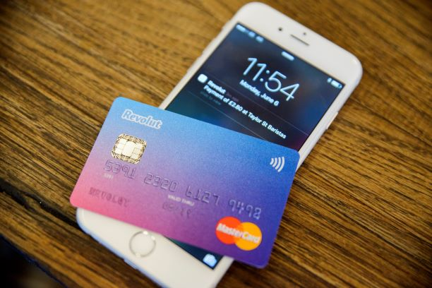revolut Revolut-Aplicație-Card
