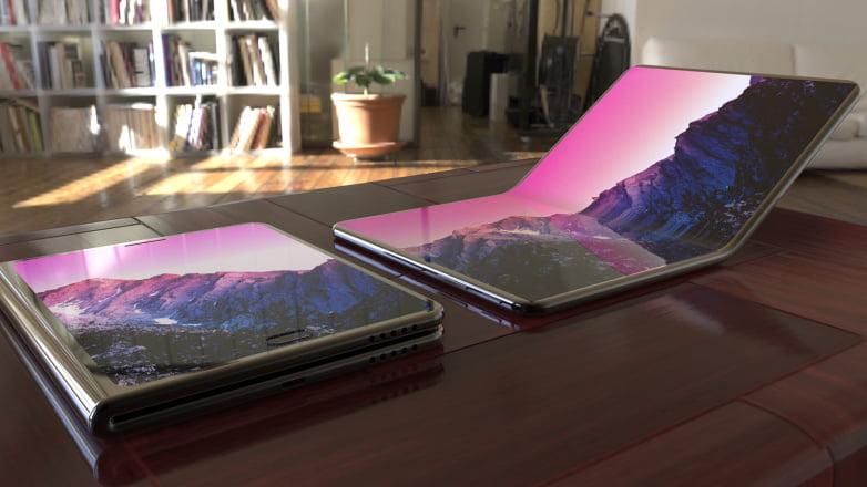 galaxy x samsung-foldable-oled-galaxy-phone