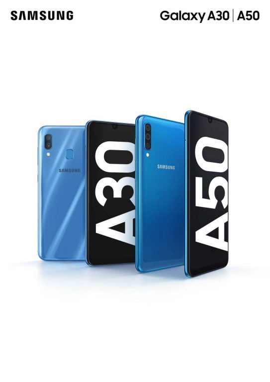 Samsung Galaxy A50 și A30. Cum arată noile telefoane mid-range