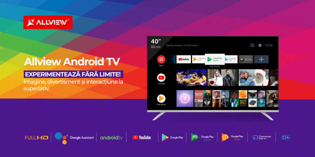 allview android tv comunicat-tv-android-40-inch