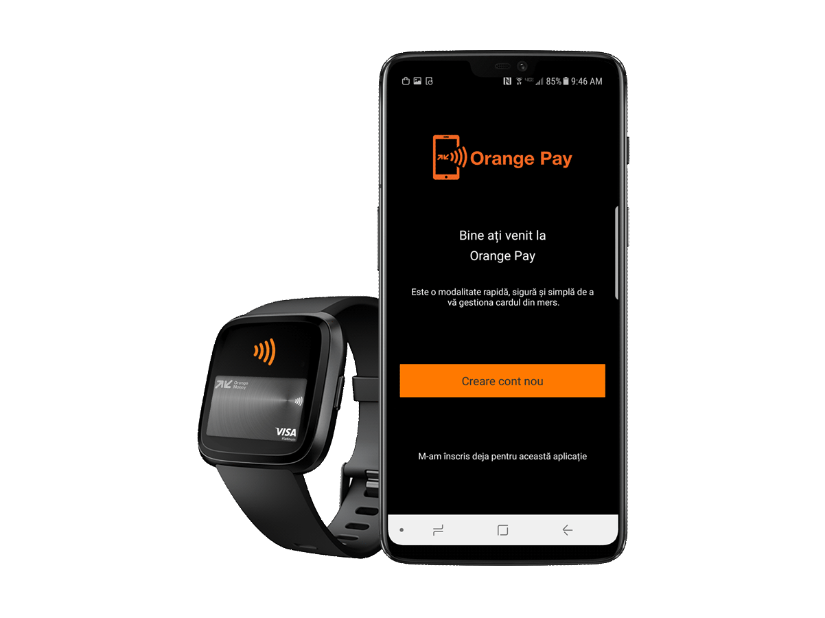 Orange Money introduce plata cu telefonul și smartwatch-ul
