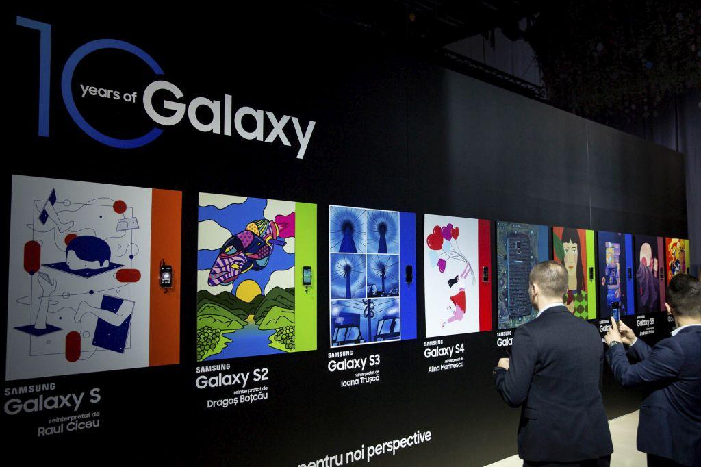 Samsung a lansat în România gama Galaxy S10